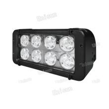 Gute Qualität 12V/24V 80W 8X10W zweireihige CREE LED Flutlichtleiste
