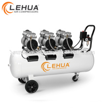 Compresor de aire silencioso médico 3 Motor 71kg 1400R.PM