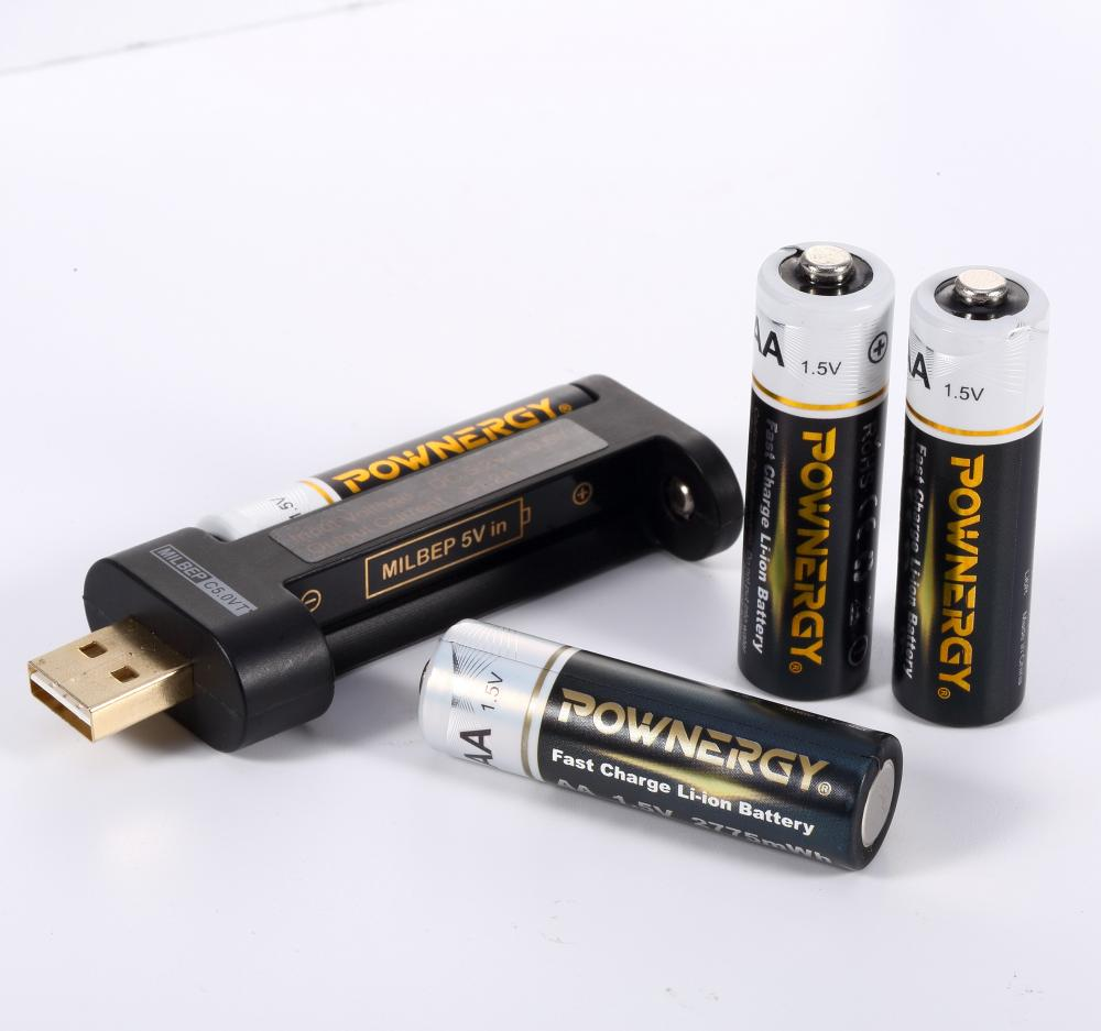 aa battery output
