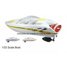 Масштаб 1/32 хобби RC модели лодки для продажи