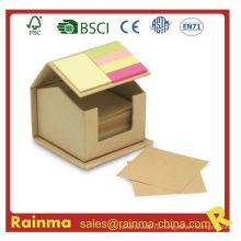 Eco Loose Memo Pad в форме дома