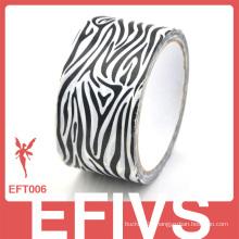 Wholesale black zebra printed duct tape