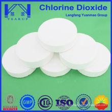 Purificación de agua del fabricante de productos químicos directos con tableta de dióxido de cloro