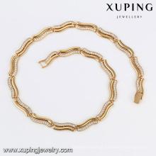 43287 -Xuping venda Quente colar de jóias artificial fazendo