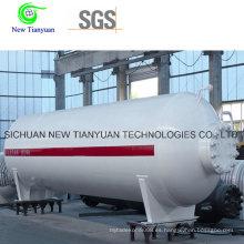 Semirremolque contenedor de tanque medio criogénico líquido
