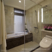 Großes Sicherheits-Dusch-Türglas