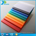 Los paneles huecos del policarbonato de los lowes de la venta caliente del Web site de Alibaba teñieron el precio plástico de la hoja del material para techos