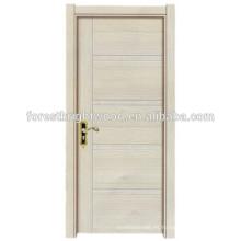 2015 nuevo producto Popular diseño Interior melamina puerta rasante
