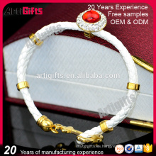 Pulsera de cuero del ancla de la joyería de la pulsera de China para las mujeres