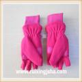 Children's cut finger earflap gloves