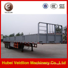 3 Axle 40FT Flatbed Trailer with 600mm Height Sidewall