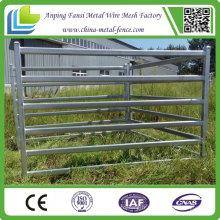 Panneaux de bétail galvanisés à tubes ovales 40X80 à vendre