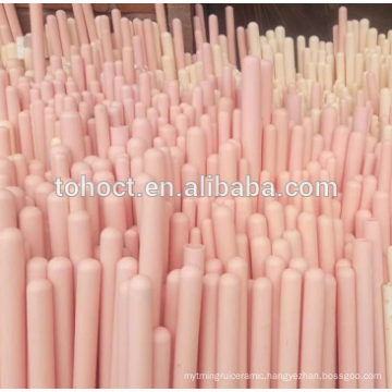 White Pink Ivory Thermocouple protection tubes