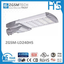 240W High Power Waterproof Photocell Highway Lighting LED Street Light