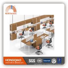 (MFC) PT-09 mesa de oficina de alta calidad de metal y estación de trabajo de madera