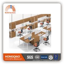 (MFC) PT-09 table de bureau de haute qualité métal et bois poste de travail