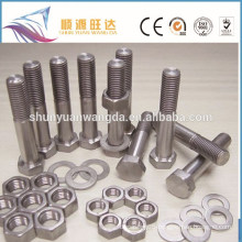 Price for rolled technique titanium bolt and nut