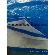 Blue/White PE Tarpaulin Cover