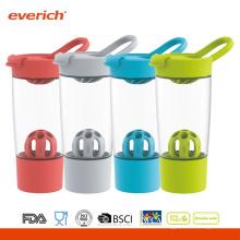 2016 Neuer Entwurf Bpa freier kundenspezifischer Großhandelssport-Protein-Shaker mit Flip-Deckel