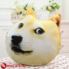 Peluche de dibujos animados de peluche de perro de juguete de perro en forma almohada doge almohada