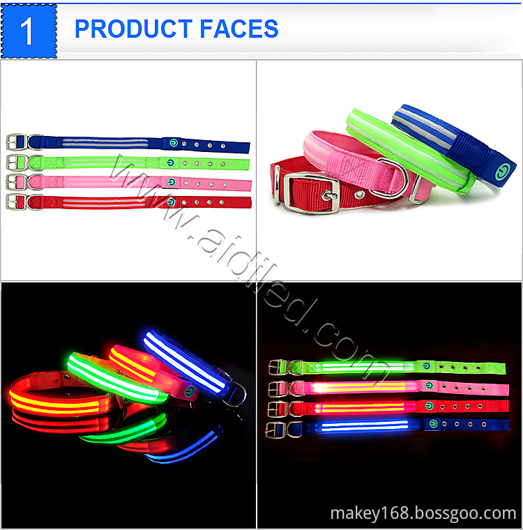Luminous Collars Dogs