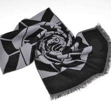 Cachecol de lã de 100% Mercerizado de moda 2014 (14-BR420202-1.1)