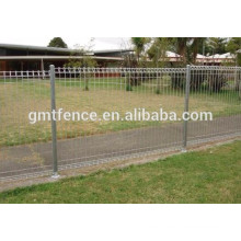 top roll steel garden fence