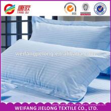 Cama de hotel de alta qualidade de cetim 100 tecido tarja de algodão 3 cm 1 cm tira statin hotel lençol tecido 100% algodão branco cetim