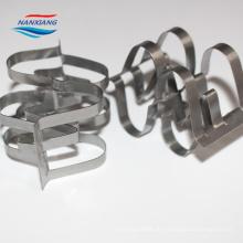 anel super do raschig do metal de aço inoxidável de SS304 SS316L para a embalagem química da torre