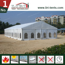 20 by 25m Hochzeit Zelt Großhandel Mobile Hochzeit Zelte mit Glaswand zum Verkauf