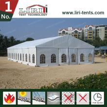 20 par 25m tente de mariage en gros mobile tentes de mariage avec mur en verre à vendre