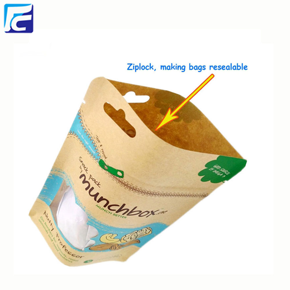 Wholesale Kraft Paper Bag with Window
