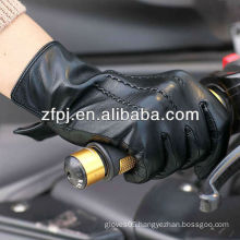 Men's fashion winter Driving leather gloves in Europe