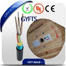 Gyfts enterré directement ou conduit et souterrain pour le câble de fibre optique de télécommunication
