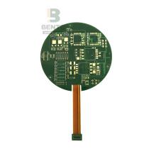 4 lager Rigid-Flex styrelse ENIG Applications Industry Green