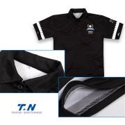 yüksek son golf dri-fit düz polo gömlek erkekler için