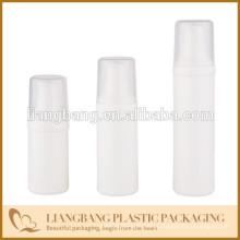 Amostras quentes, frasco airless com frasco dos PP, frasco plástico, embalagem cosmética