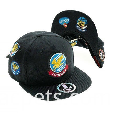 Custom 3d Embroidery Leisure Cotton Snapback Cap