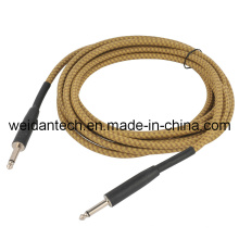 "5meter Professional 1/4"" Mono Audio Link Cable for Guitar"