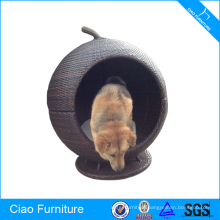 Little Size Viro Rattan Garden Pet Bed
