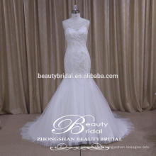 Glamour High Quality Sparkle Understated Wedding Dress from Professional Factory of China
