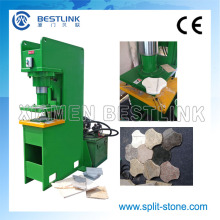 Hydraulic Stone Stamping Machine for Recycling Waste Stone Tiles