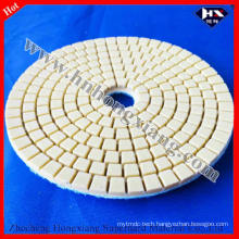 100mm Wet Diamond Abrasive Pad for Marble, Granite Floor