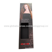High quality hair extension packaging boxes, OEM orders are welcome