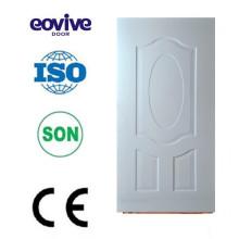 Porta usado melamina superfície material de madeira porta pele