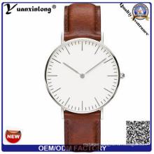 Yxl-651 Black New Steel Watch for Factory Direct Quartz Stainless Steel Watch Black Watch