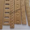 Moldagem de madeira decorativa da moldação da madeira de faia do vapor de Europa do Exclusive