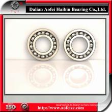 A & F Bearing série 6200 série 6300 série 6000 Roulement à billes ouvert 2RS ZZ ZN C3 C0 Roulement à billes Roulement à billes profonde