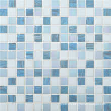 20*20mm Glass Mosaic Color Variation for Bathroom Tile