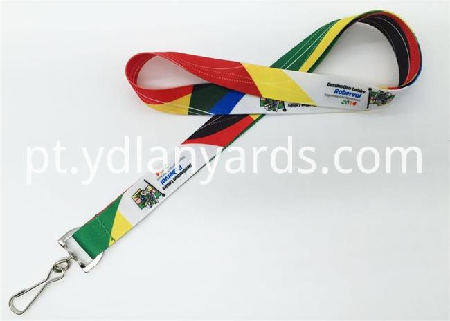 Fashion sublimation printing lanyards